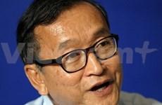 Reacción cruzada ante resultado electoral oficial en Cambodia