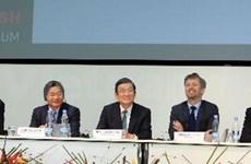 Presidente Truong Tan Sang en foro empresarial Vietnam- Dinamarca