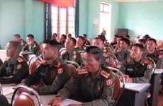 Inauguran taller operacional para fuerzas armadas de Laos