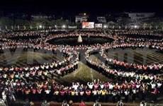 Actuación de danzas antiguas establece récord nacional