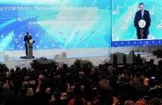 Inauguran cumbre empresarial de APEC en Indonesia