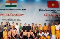 Inauguran sexto Festival de Amistad Vietnam-India