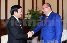 Presidente vietnamita recibe a director general de ITAR-TASS