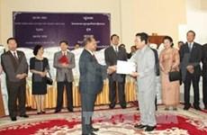 Celebran Día Nacional de Cambodia en Hanoi