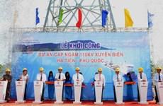 Instalan cable submarino para proveer electricidad a Phu Quoc
