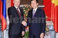 Vietnam y Rusia emiten declaración conjunta