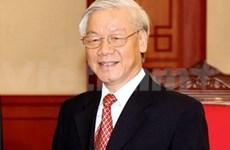 Prensa india destaca visita del líder partidista de Vietnam