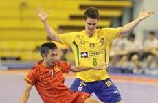 Gana equipo brasileño torneo de fútbol sala en Vietnam