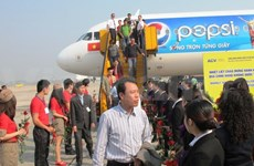 Aeropuerto de Noi Bai recibe al pasajero número 12 millones
