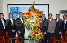 Altos funcionarios felicitan comunidad religiosa por Navidad