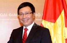 Destacan logros del sector diplomático vietnamita en 2013