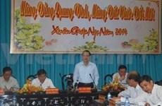 Dirigente vietnamita llama a desarrollar agricultura sostenible