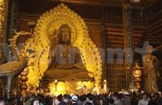 Inauguran festival de pagoda Bai Dinh