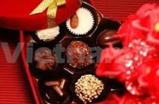 Florece mercado de chocolate en víspera del Día de San Valentín