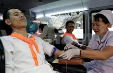 Impulsa Vietnam movimientos de donación de sangre