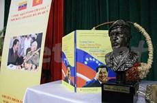 Al público vietnamita libro sobre pensamiento de Chavez
