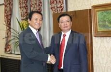 Viabilizan Vietnam y Japón cooperación financiera