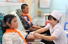 En desarrollo campaña vietnamita de donación de sangre