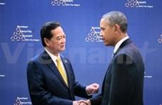 Premier vietnamita se reúne con dirigentes mundiales