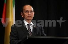 Presidente birmano reafirma continuar proceso democrático