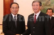 Vietnam y Laos determinan consolidar relación partidista