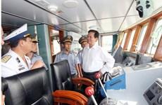 Presentan Fuerza de Control de Pesca de Vietnam