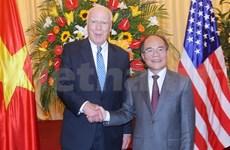 Vietnam y EE.UU. robustecen cooperación legislativa