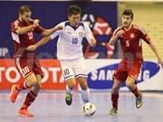 Japón y Tailandia muestra superioridad en torneo asiática de futsal
