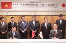 Vietnam enviará aprendices en agricultura a Japón