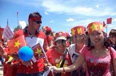 Vietnamitas y filipinas marcharon en Chipre contra violación china