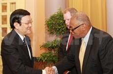 Presidente vietnamita recibe a ejecutivos de Exxonmobil
