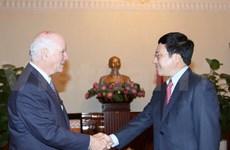 Vietnam y EE.UU. fomentarán intercambio de delegaciones