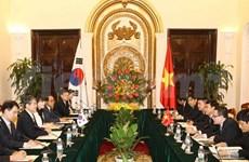 Vietnam aspira a fomentar nexos con Sudcorea, dice vicepremier