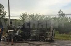 Camioneta con vietnamitas se accidenta en Tailandia, 13 muertos