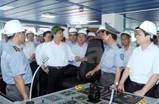Premier vietnamita elogia corporación de industria naval