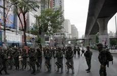 Detienen a manifestantes antigolpistas en Tailandia