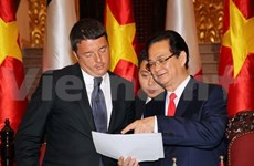 Vietnam e Italia incrementarán intercambio comercial