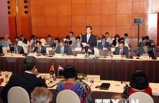 Conferencia sobre desarrollo sostenible en Delta del río del Mekong