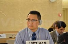 Destacado Vietnam en reunión de Consejo de DD.HH