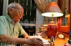 Fallece To Hoai, gran figura literaria contemporánea de Vietnam
