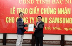 Bac Ninh respalda infraestructura técnica de Samsung Display