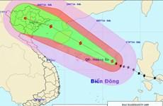 Tifón Rammasun entra al Mar Oriental
