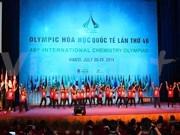 Inauguran en Vietnam Olimpiada de Química