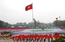 Dirigentes vietnamitas honran al Presidente Ho Chi Minh