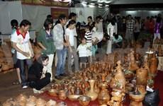 Exposición de antiguo arte cerámico del Sur de Vietnam