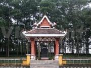 Completan restauración de sitio de reliquia de revolución laosiana en Tuyen Quang