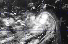 Tifón Kalmaegi entra en Mar Oriental