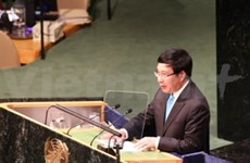 Expone canciller vietnamita en cita de ONU