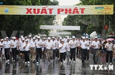 Gran concurrencia a maratón en saludo a Día de liberación de hanoi
