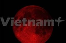 """""""Luna Roja"""" aparecerá en cielo vietnamita este atardecer"""